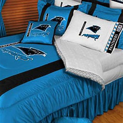 panthers bedding new nfl carolina panthers queen comforter bedding set ebay