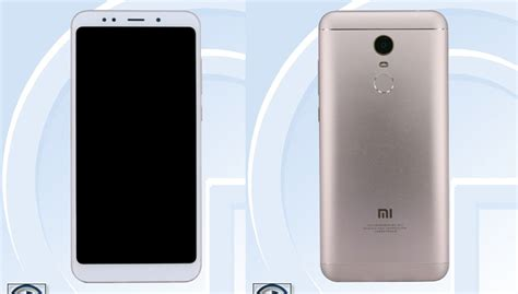Handphone Xiaomi Redmi Note 5 xiaomi redmi note 5 design leaked via tenaa this is how
