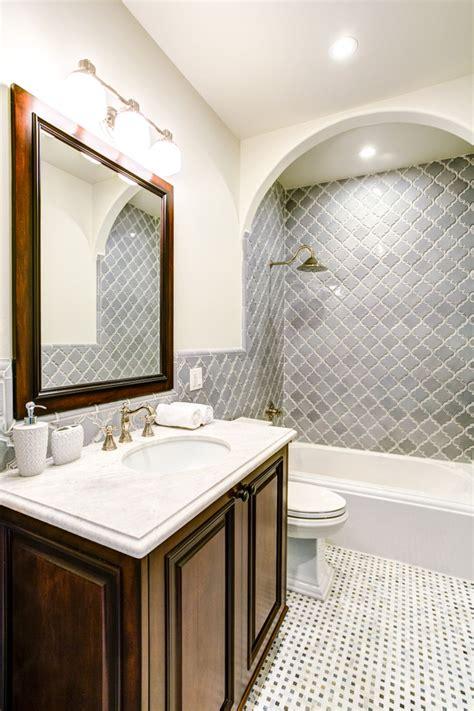 Bathroom Sink Organizer Ideas cool arabesque tile in bathroom mediterranean with mosaic