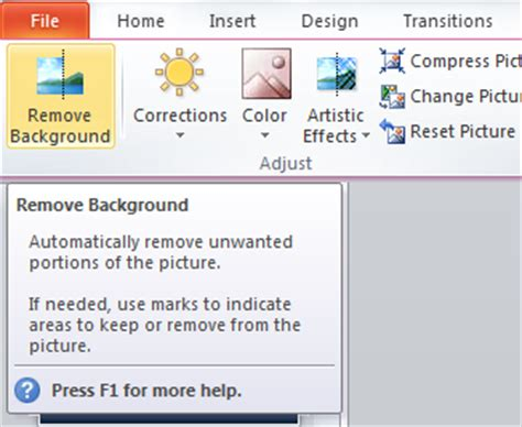 remove themes powerpoint 2010 how to remove image backgrounds using powerpoint 2010