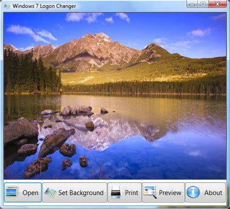 Como Fazer O Auto Logon No Windows 7 by Win7 Logon Changer 2 0 1 Baixar No Clickgr 225 Tis