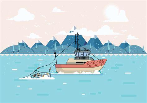deep sea fishing boat vector deep sea fishing vol 2 vector download free vector art