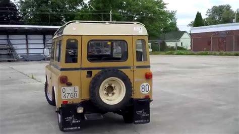land rover santana 88 land rover santana 88 especial diesel youtube