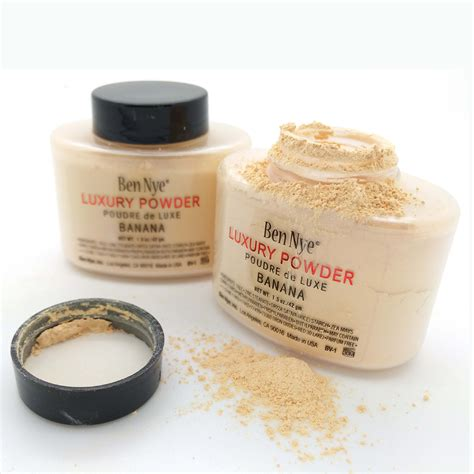 Ben Nye Banana Luxury Powder 1 5oz ben nye banana luxury powder brand new poudre de luxe 1