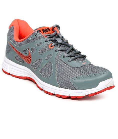 sport shoes for nike buy nike gray sport shoes for snapdeal