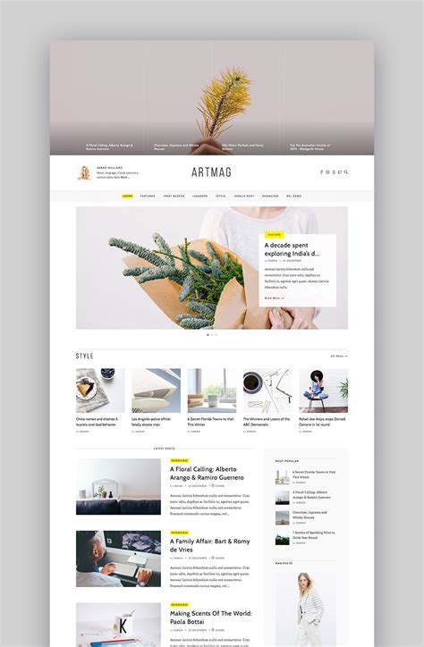 wordpress themes simple design 20 best minimal wordpress themes with simple elegant