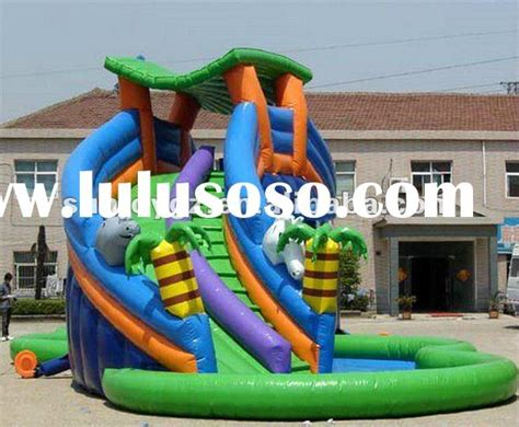inflatable backyard water park garden design 21869 garden inspiration ideas