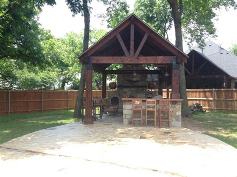 outdoor pavilions with fireplaces cedar pavilion outdoor kitchen and fireplace