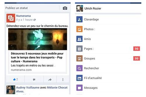 application facebook pour android 2.0 telecharger gratuit