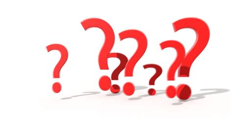 doodle poll question marks with question in speech on blue background