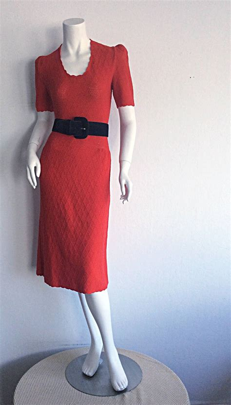 fashion avenue knits 1960s vintage adolfo for saks 5th ave knit 60s dress