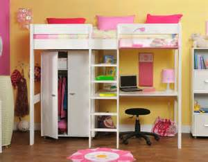 Loft Beds For Adults Ikea Stompa High Sleeper For Girls