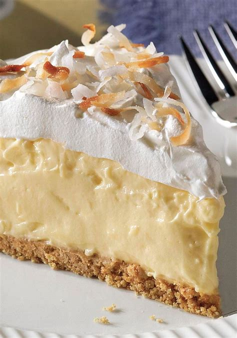 Easy But Scrumptious Dessert by Easy Coconut Pie It Looks Like A Special Occasion