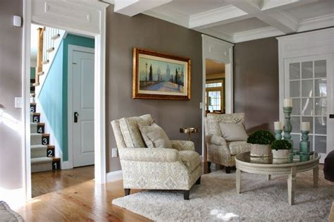 grey squirrel by martha stewart the yellow cape cod before after living room makeover a design