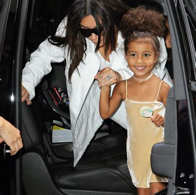 this mother and daughter look is fabulous kim kardashian and daughter north west look fabulous as