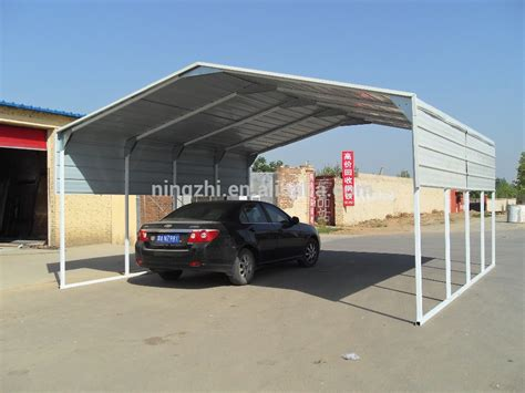 Galvanized Carport wholesale 3 3x6x2 5m single steel carport galvanized frame portable car truck boat caravan cover