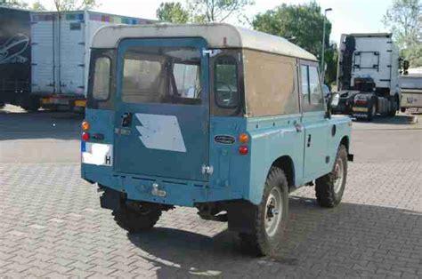 H Kennzeichen Auto Kaufen by Land Rover Serie Iii 88 Diesel H Kennzeichen Angebote