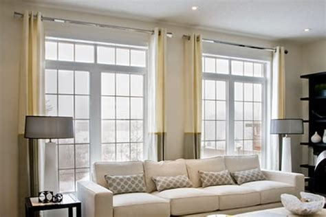 curtains high and wide how to hang curtains to enhance your windows