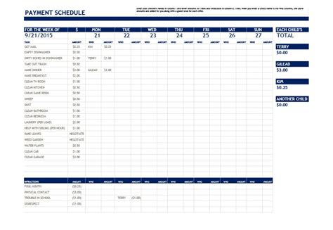 payment plan template 33 great payment plan schedule templates template archive