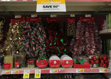 kroger christmas decorations today only 50 open stock boxed ornaments tree garland and tinsel at kroger kroger