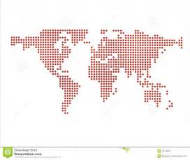 us map dots vector world map in dots vector stock vector image of dots