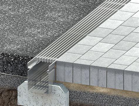 Schlitzrinne Terrasse