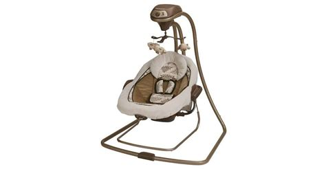 graco vibrating baby swing graco duetconnect lx infant baby swing and bouncer