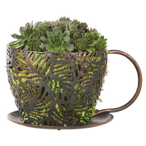 Coffee Cup Planter by Coffee Cup Planter Cool