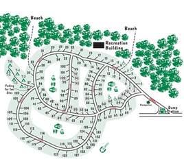 south rv parks map huntington state park cing in south carolina