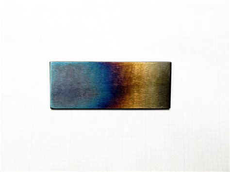 heat treated metal diy heat treatment of tool steel the sharpening