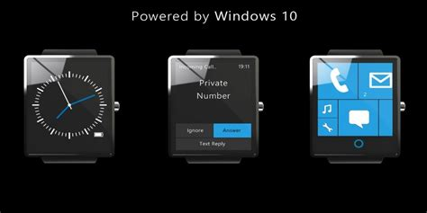 Smartwatch Windows this windows 10 smartwatch could put the apple to shame