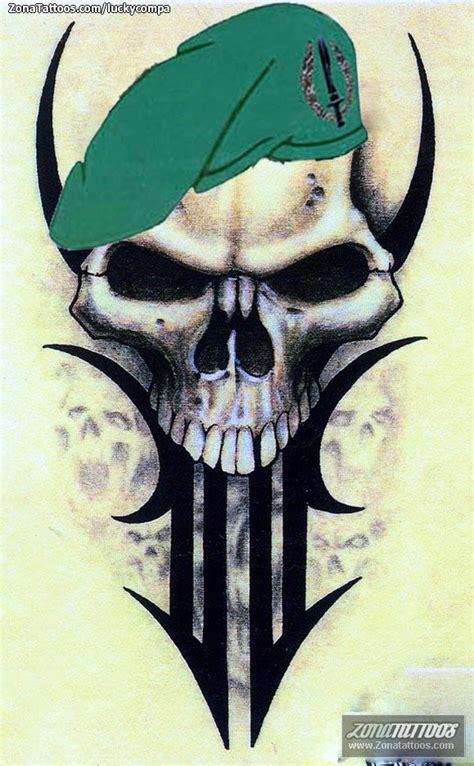 Imagenes De Calaveras Soldados | dise 241 o de calaveras militares