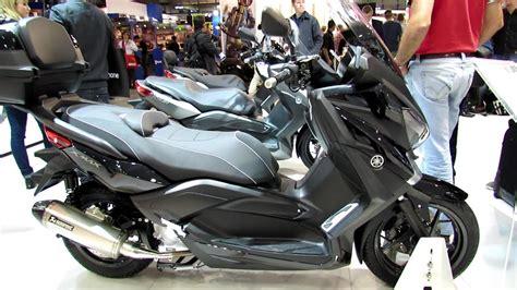 yamaha  max  scooter walkaround  eicma