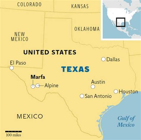 where is marfa texas map marfa texas a modernist colony in the desert the independent