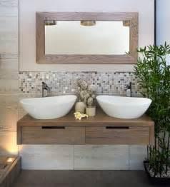 trends badezimmer badezimmer trend 2014 naturmaterialien holz pflanzen bad