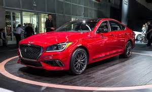 2018 genesis g80: now with a twin turbo sport trim and