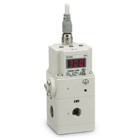 Smc Electro Pneumatic Regulator smc itvx2030 34n3cl4 regulator electro pneumatic it2000