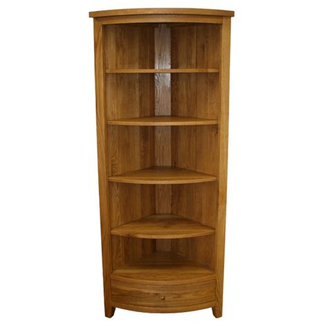 Library Bookcase With Doors Corner Bookcase