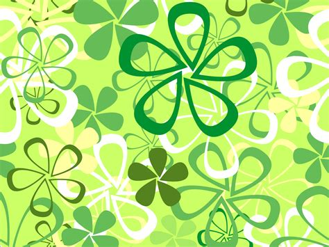 Floral In Green green flowers backgrounds flowers green white yellow