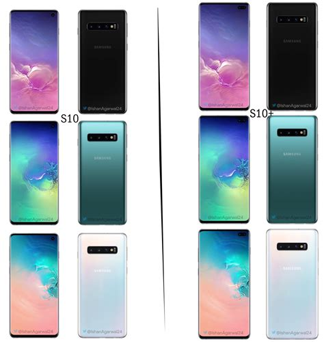 Samsung Galaxy S10 Colors by Samsung Galaxy S10 Lineup Which Is Your Favorite Color Misstechy