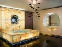 Revetement Mural Salle De Bain 967 salle de bain en moca creme revetement mural tablette et