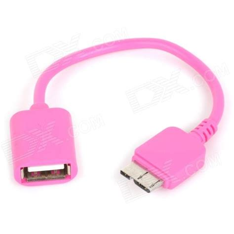 Otg Samsung S5 stylish otg cable for samsung galaxy s5 pink free
