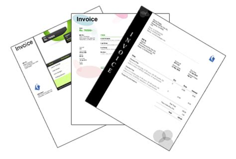 fancy invoice template invoice template gallery 171 zoho