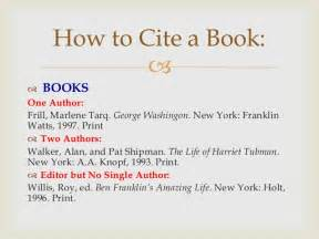 How To Cite Pages In A Book In An Essay by Mla Powerpoint For 4th 5th Beginning Research