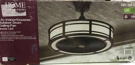 brette 23 ceiling fan home decorators brette 23 in led indoor outdoor