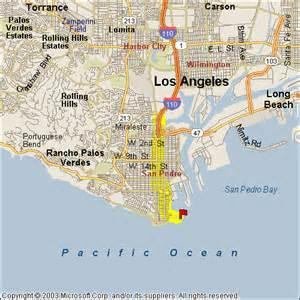 map of san pedro california cabrillo
