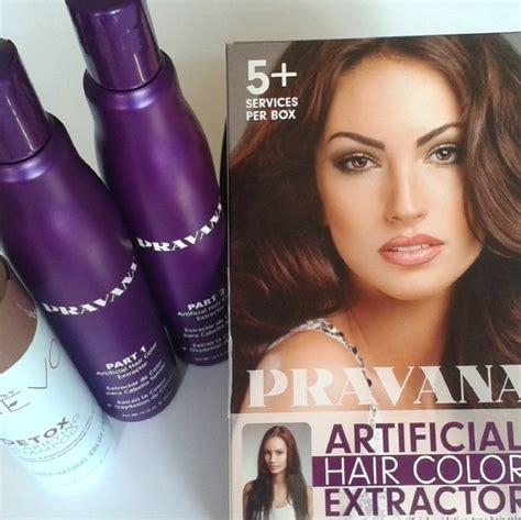 pravana artificial hair color extractor kit pravana pentru extragerea culorii parului vopsit