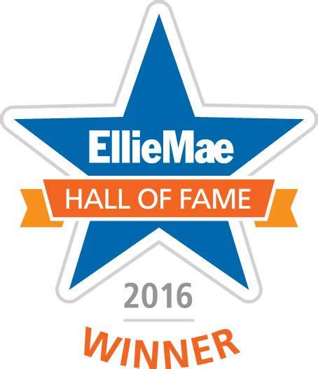 prosperity home mortgage inducted into ellie mae of