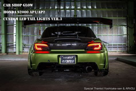 honda s2000 ap1 led lights car shop glow honda s2000 ap1 ap2 custom led lights