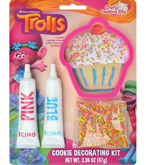 Cookie Decorating Kit by Dreamworks Trolls Cookie Decorating Kit Joann Jo